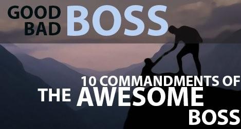 Good boss bad boss image